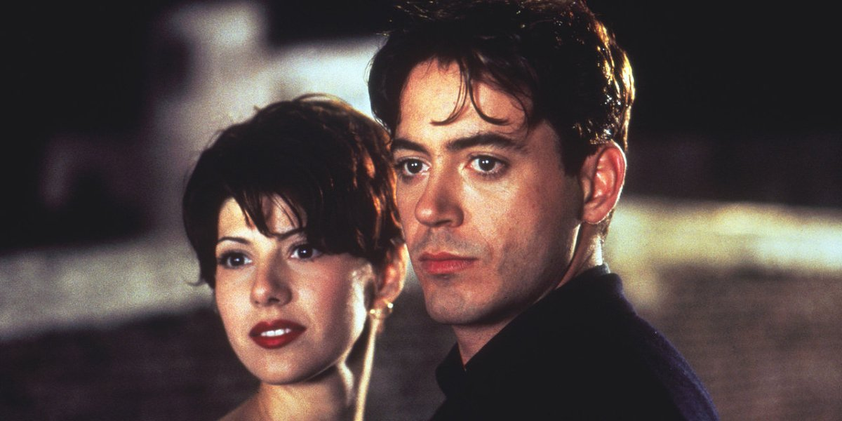 Marisa Tomei and Robert Downey Jr. in Only You