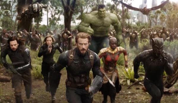 The Avengers defend Wakanda