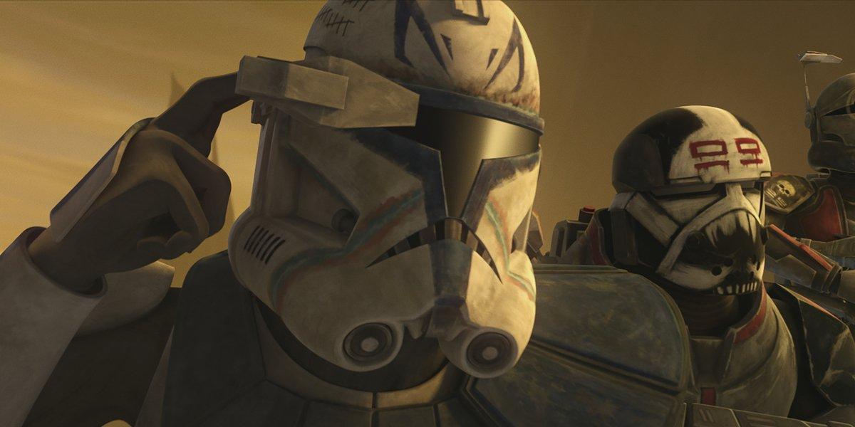 star wars the clone wars the bad batch captain rex disney+
