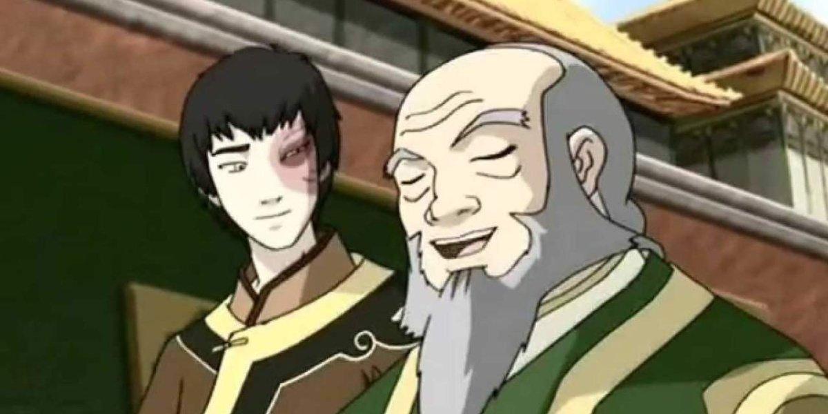 Zuko and Iroh in Avatar: The Last Airbender.