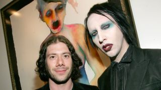 Wes Borland and Marilyn Manson