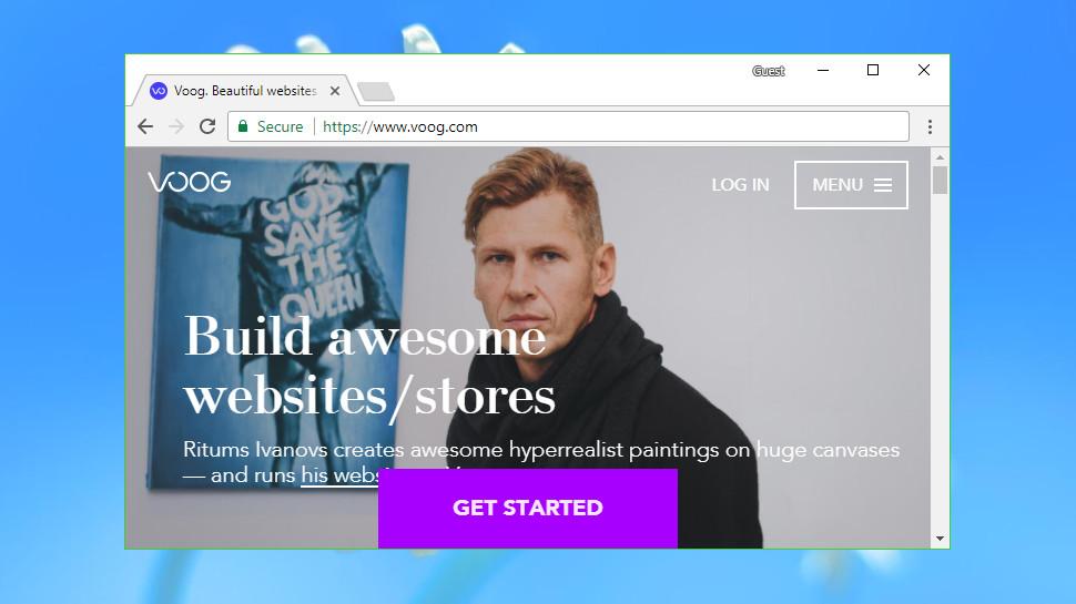 Voog, a new force among website builders