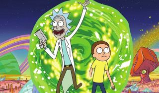 Rick and Morty are headed to Rocket League