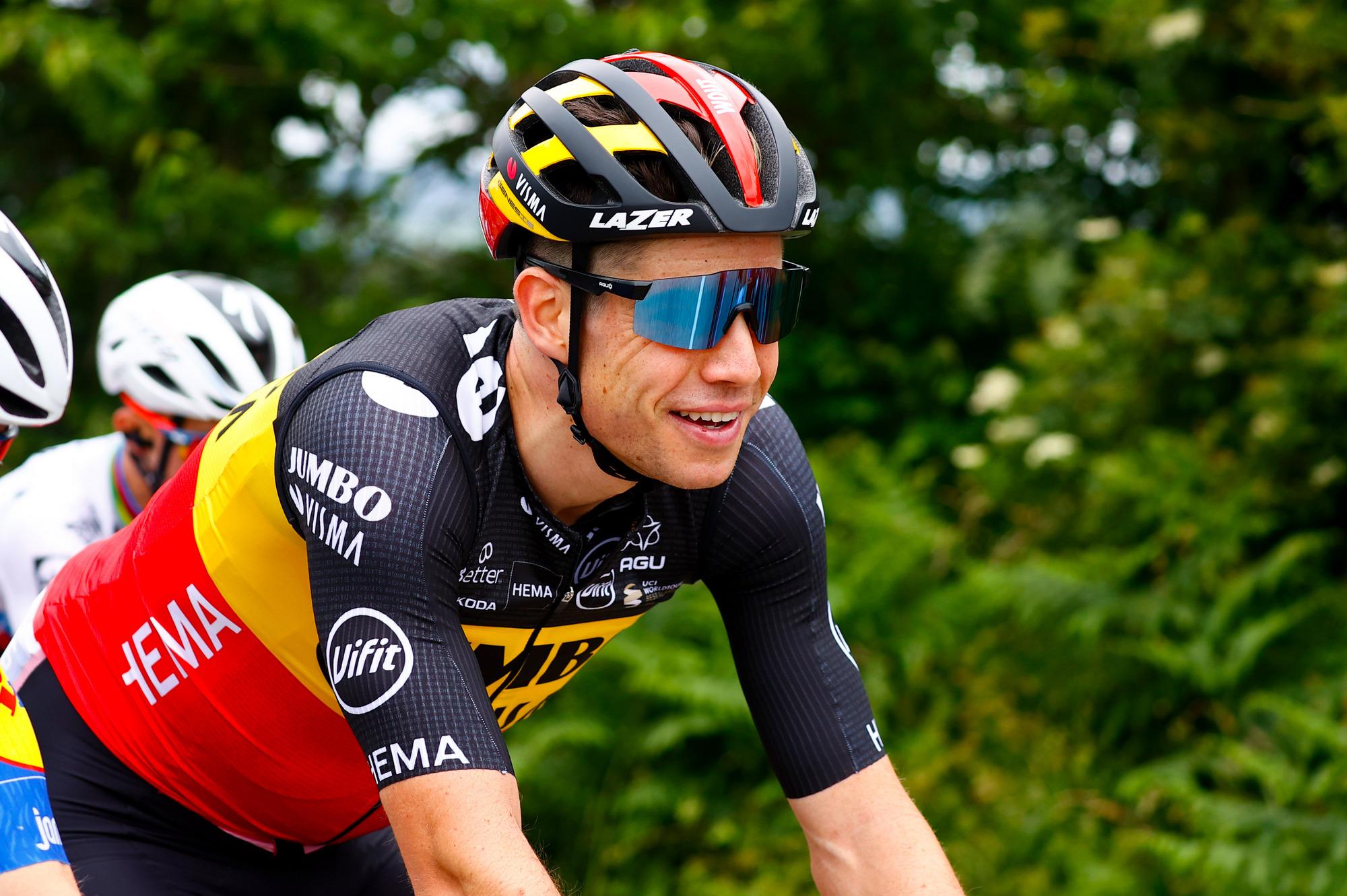 Tour de France 2021 108th Edition 1st stage Brest Landerneau 1978 km 26062021 Wout Van Aert BEL Jumbo Visma photo Luca BettiniBettiniPhoto2021