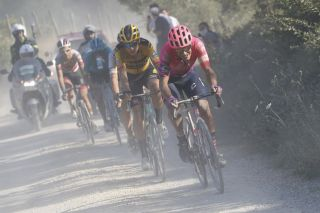 Strade Bianche 2020 - 14th Edition - Siena - Siena 184 km - 01/08/2020 - Alberto Bettiol (ITA - EF Pro Cycling) - photo Luca Bettini/BettiniPhoto©2020