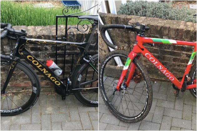 Former pro and Le Col owner Yanto Barker offers reward for stolen Colnago  bikes e8a9ad5a2