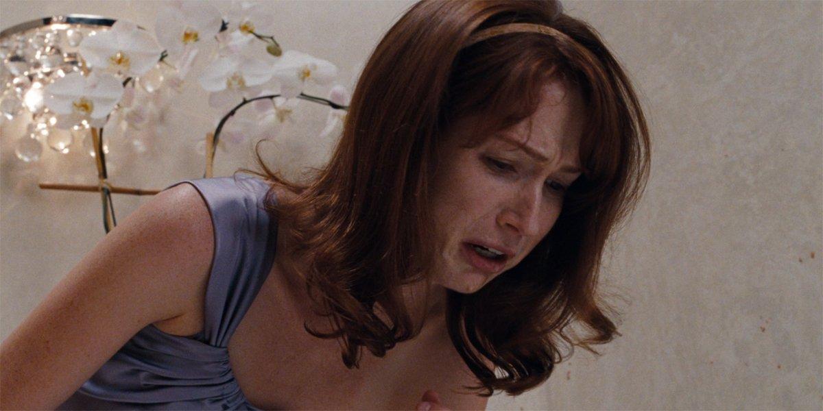 Ellie Kemper vomits in Bridesmaids