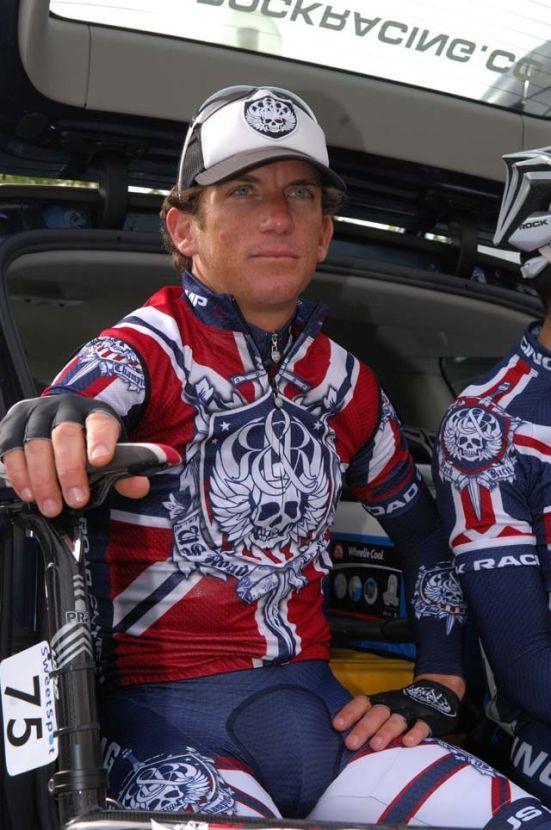 Tyler Hamilton Tour of Britain stage 2