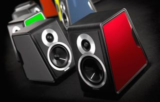 Sonus faber Chameleon speakers offered with multiple colour