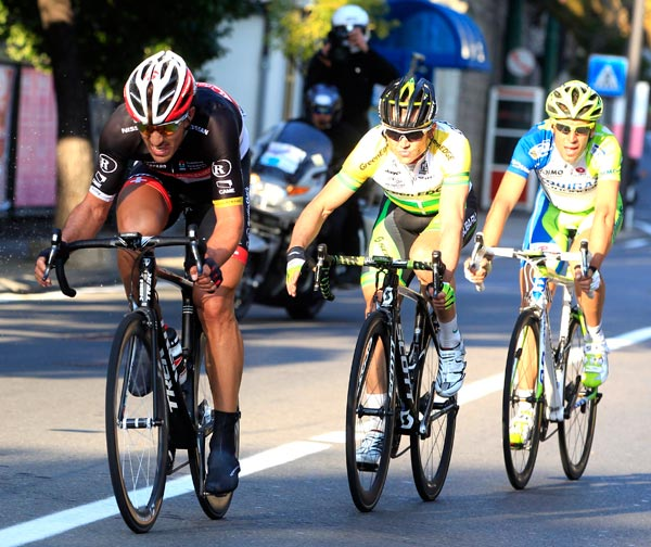 Cancellara, Gerrans, Nibali, Milan-San Remo 2012