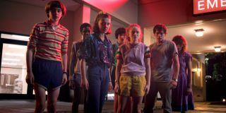The Stranger Things cast