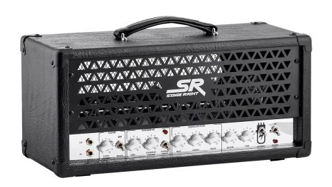 Stage Right By Monoprice 30-watt tube amp head and 1x12 cab