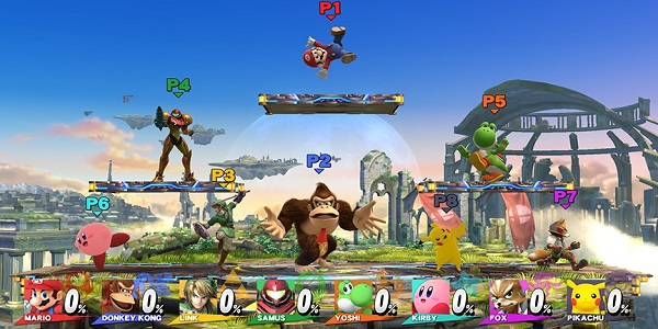 Super Smash Bros Wii U Update Adds New Levels