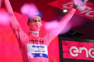 Giro dItalia 2020 103th Edition 14th stage Conegliano Valdobbiadene 341kmm 17102020 Joao Almeida POR Deceuninck Quick Step photo Dario BelingheriBettiniPhoto2020