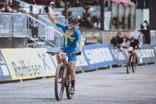 Sweden's Jenny Rissveds Cross Country World Cup in Leogang Austria on June 13 2021