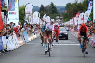 Dorian Godon of AG2R Citroën wins stage 2 of 2021 Tour du Limousin
