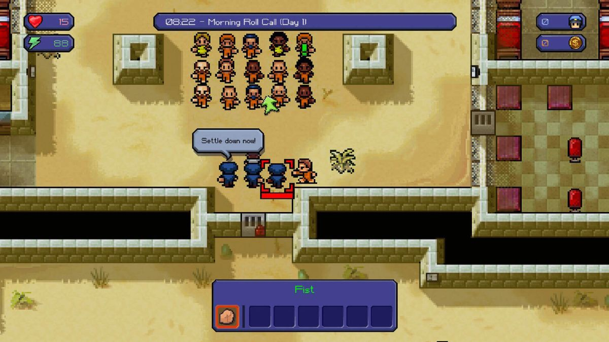 The Escapists is free on the Epic Games Store