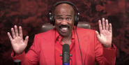 Of Course, Steve Harvey Brings Up Sexiest Man Alive When Asked About Michael  B. Jordan Dating His Daughter