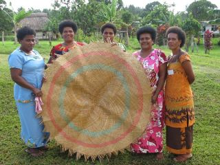 women weavers, conservation, fiji