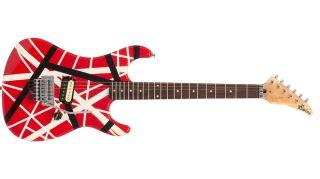 A Kramer Striker/Ripley Frankenstrat that once belonged to Eddie Van Halen