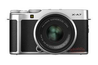 Fujifilm X-A7 images leak out, showing huge LCD and AF lever 3