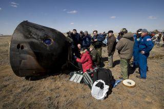 Charles Simonyi's Soyuz TMA-13 Space Tourism Vehicle