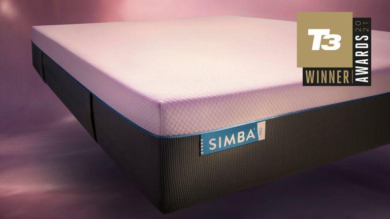 Simba Hybrid Pro with T3 Awards 2021 Best Mattress Award logo