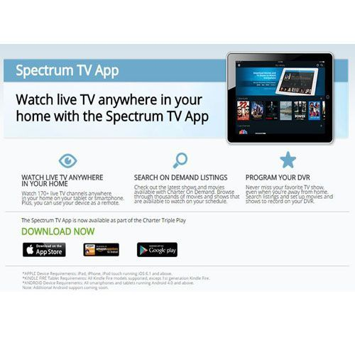 Spectrum Tv Search
