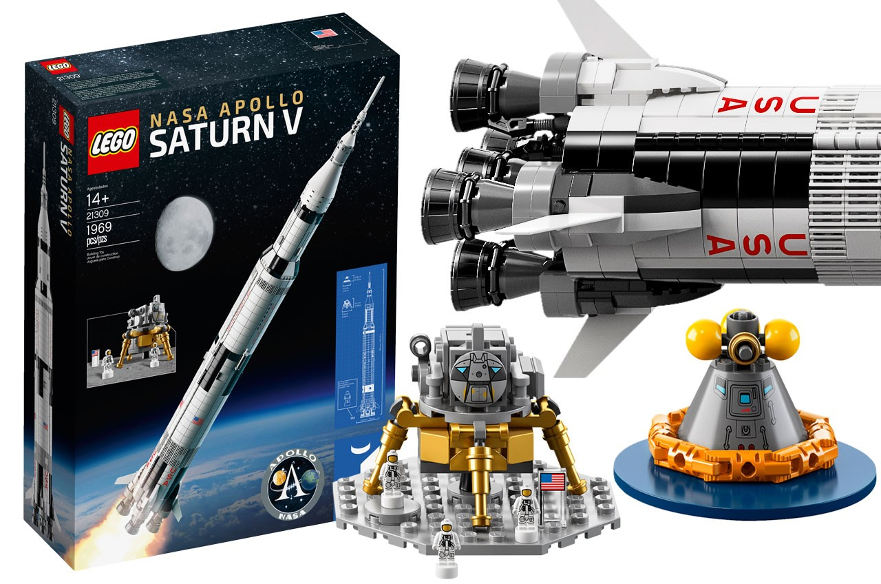 NASA Apollo Saturn V to Launch as Lego Brick Model Set on June 1 | Space