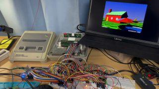SuperRT chip for Super Nintendo