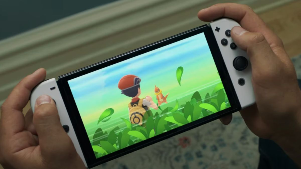 Nintendo Switch OLED spotted in the wild just weeks before launch