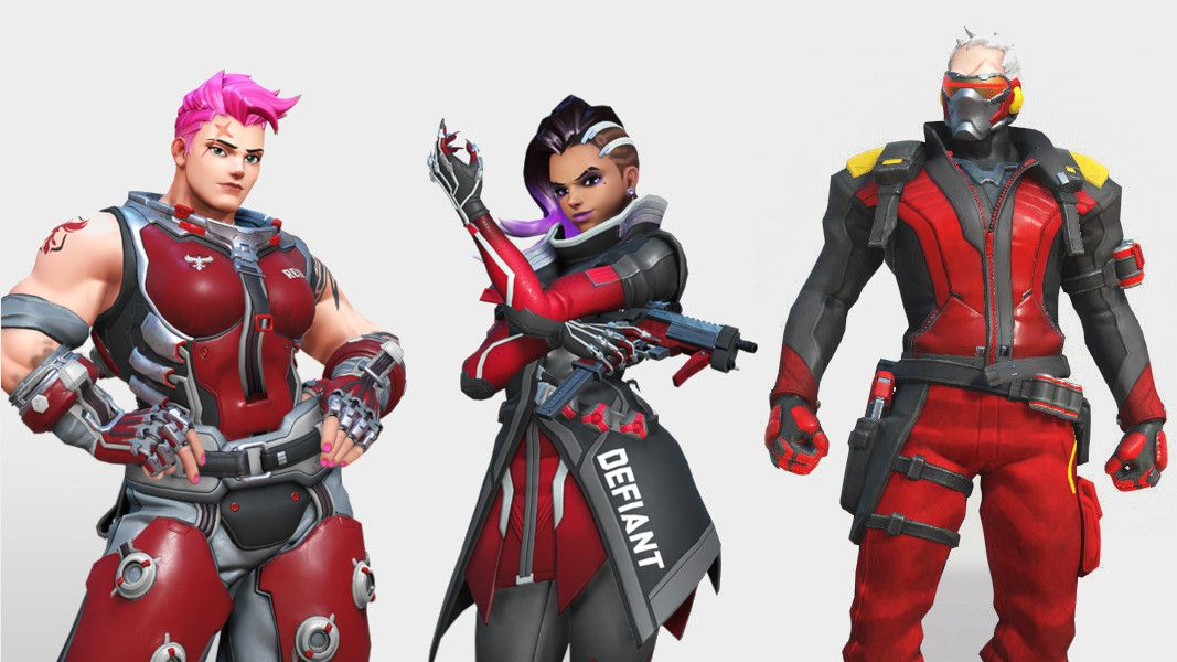 Atlanta Falcons Colors Red >> Overwatch League teams need to realize there are colors other than red and black | PC Gamer