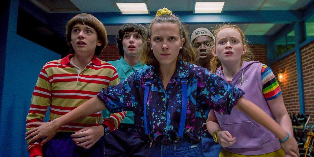 stranger things eleven holding group back