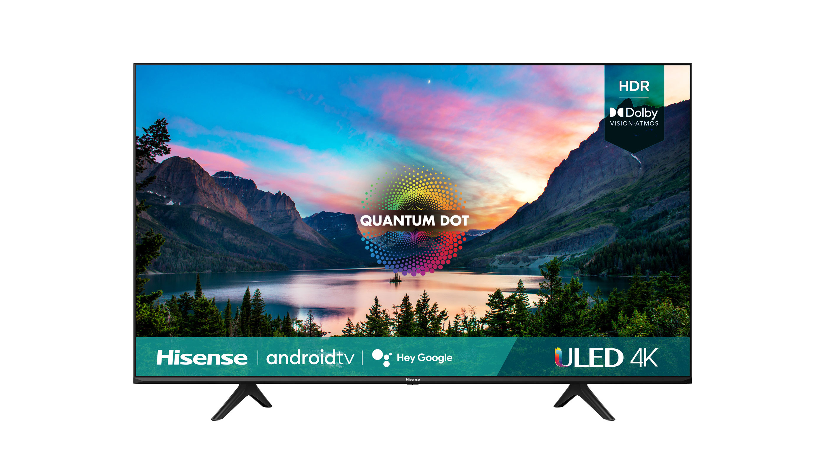 Another frontal view of the Hisense U6G ULED TV