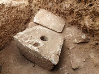 Archaeologists discovered a rare, 2,700-year-old toilet among the remains of an ancient estate in Jerusalem.