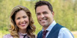 No Big Deal, Just Hallmark's Pascale Hutton And Kavan Smith Reuniting On When Calls The Heart Set