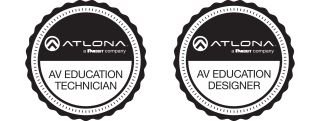Atlona Launches New AV Training Certifications for Educational Technologists and Designers