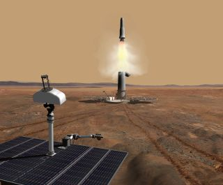 Mars Sample Return Mission Concept