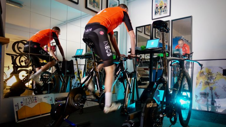 Chris Froome's home gym setup