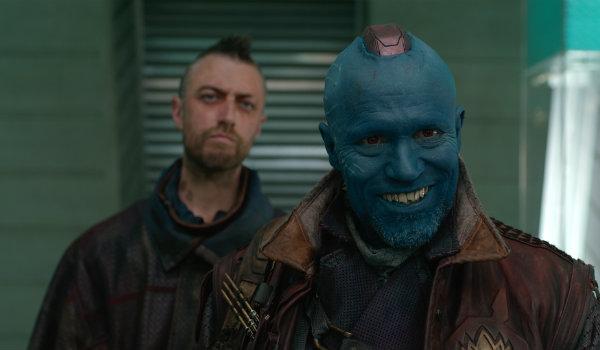 Sean Gunn as Kraglin Michael Rooker as Yondu Guardians of the Galaxy