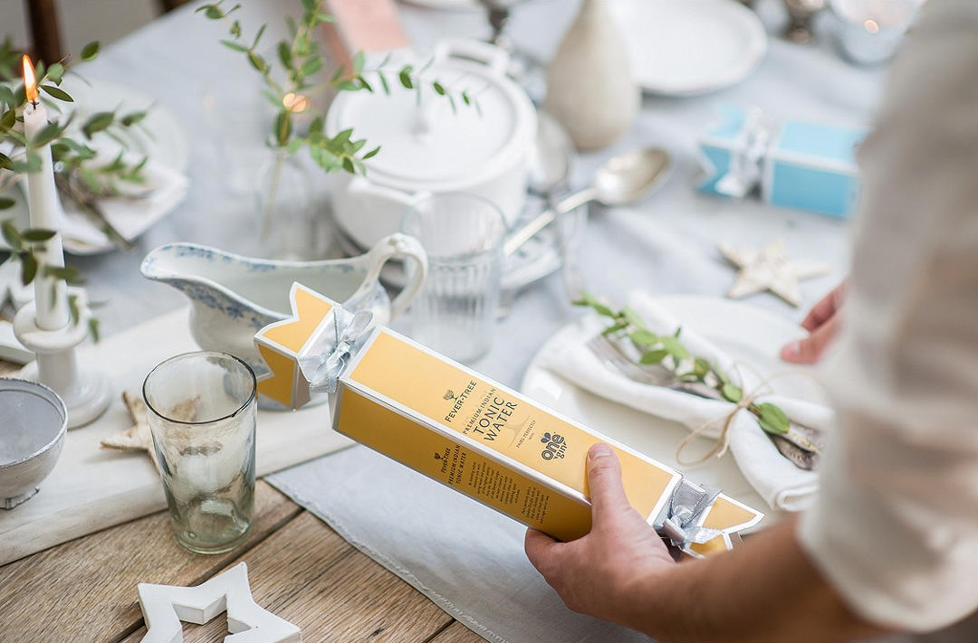 Fever Tree Gin and Tonic pairing crackers
