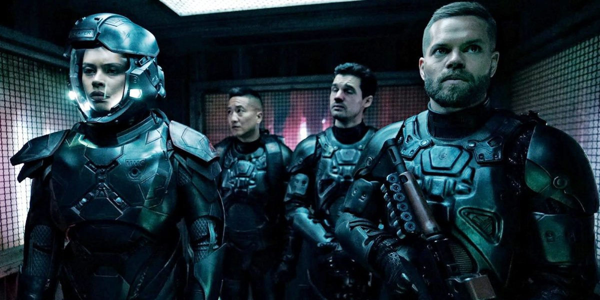The cast of The Expanse