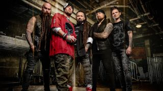 Andy James is the new guitarist in Five Finger Death Punch