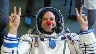 Space Clown to Lighten Mood In Orbit