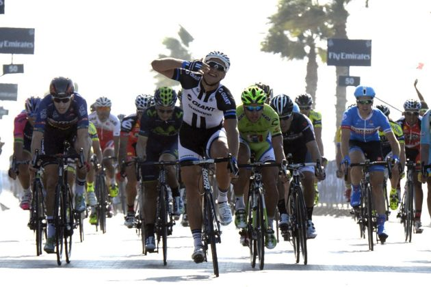 Marcel Kittel wins Dubai Tour 2014 stage two