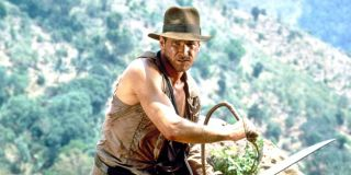 Harrison Ford as Indiana Jones in Temple of Doom