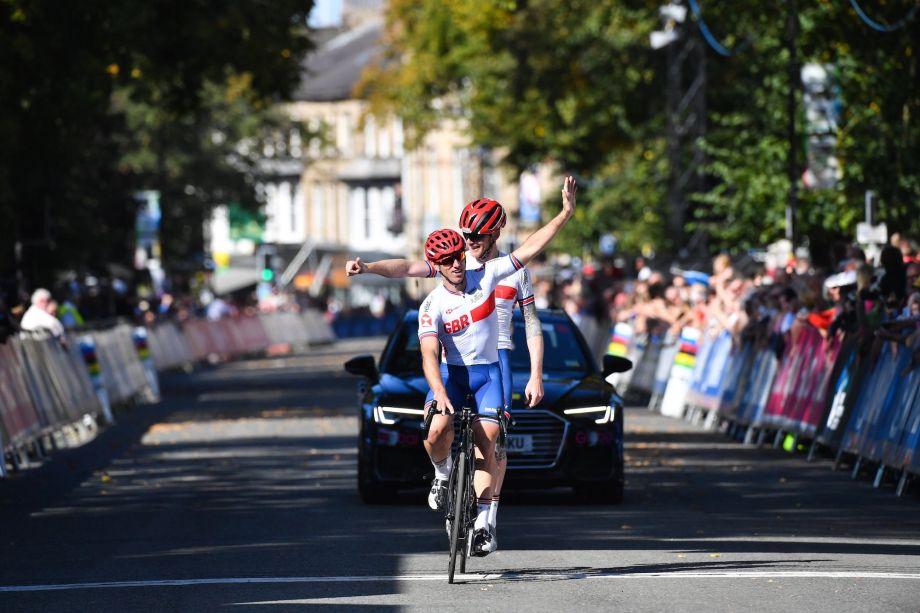 Brits dominate para-cycling events at Yorkshire Worlds