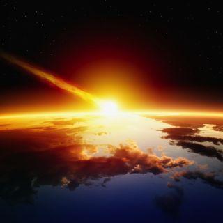 asteroid, impact, cretaceous, k-t extinction
