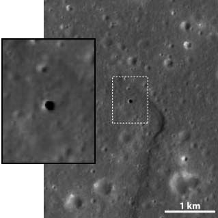 Hole in the Moon Could Shelter Colonists