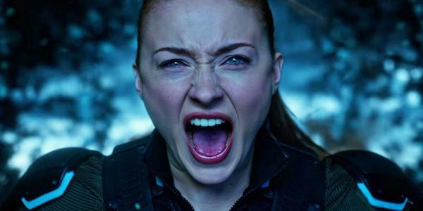 Sophie Turner's Jean Grey battling Apocalypse